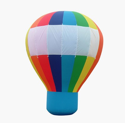 Factory price advertising inflatable hot air ground balloon