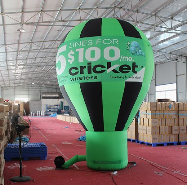 Inflatable Advertising Ground Ball Hot Air Balloon