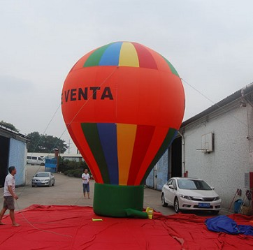 Nylon Material Advertising Inflatables Large Ground Balloons