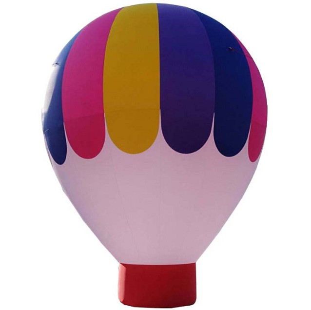 Giant inflatable ground air balloon for outdoor event
