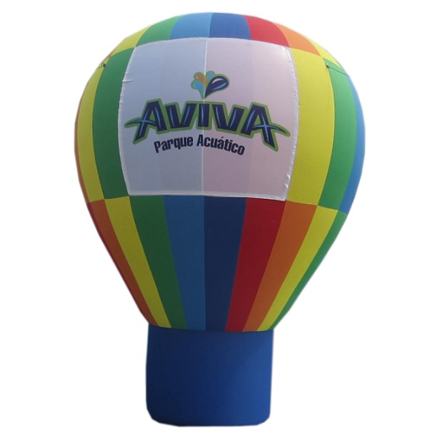Custom inflatable advertising big ground cold air balloon