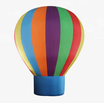 Factory custom inflatable flying advertising ground balloon