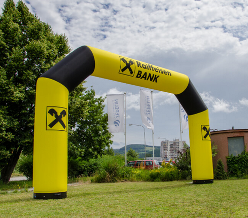 Custom Outdoor Large Inflatable Arches for Sports