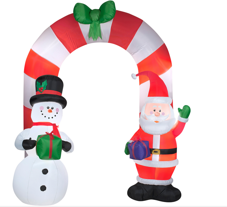 Hot Selling Polyester Inflatable Arches for Christmas