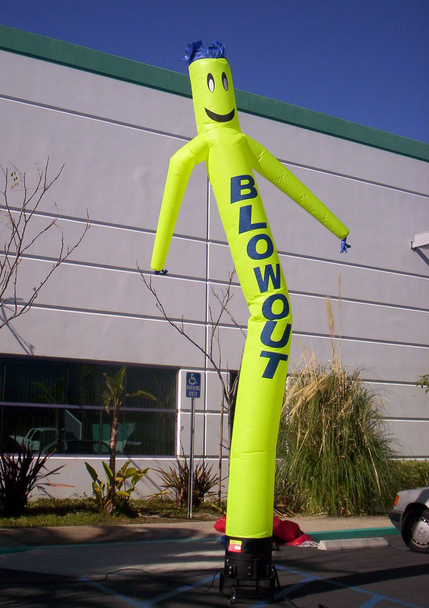 Inflatable Tube Man Air Puppet For Advertising