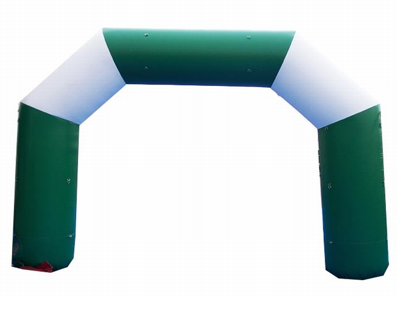 Outdoor lighting advertising finish line inflatable arch