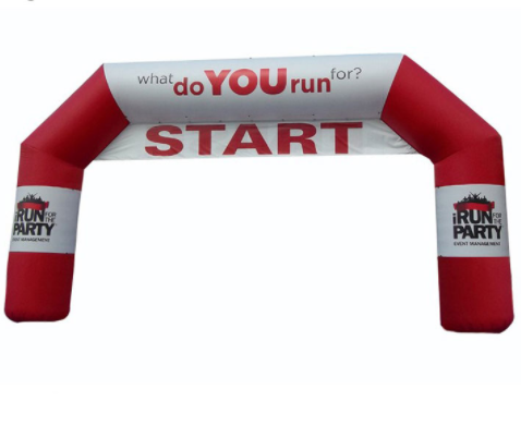 Oxford Fabric Inflatable Race Arch For Sports