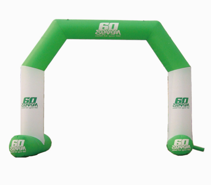 Outdoor Custom Logo Printed Advertising Inflatable Archway