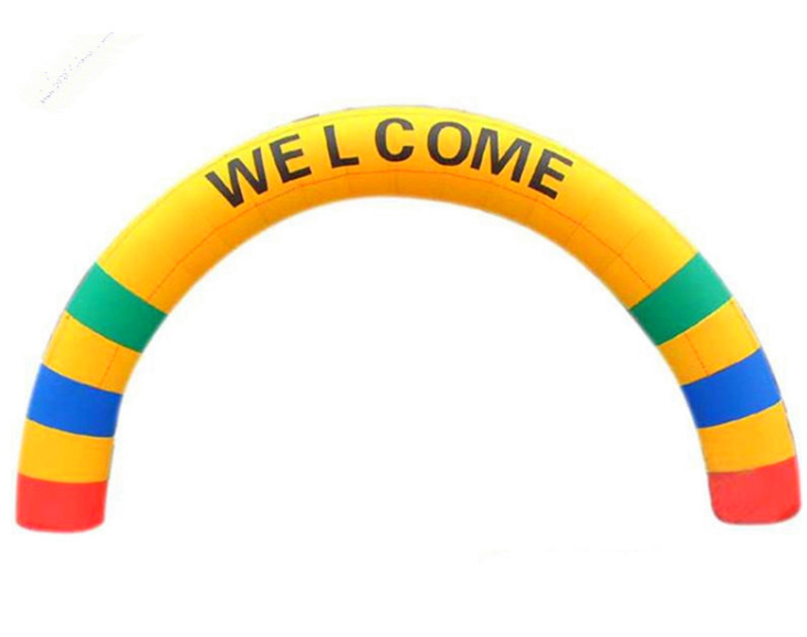 Promotional Standard Size Inflatable Arches For Commercial
