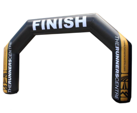 Finish Line Entrance Archway Sports Running Inflatable Arch For Sale