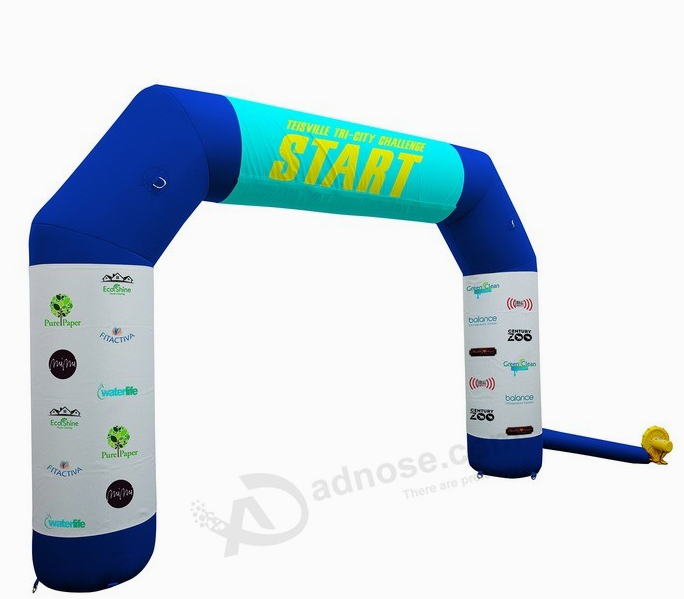 Fashion Inflatable Arch Door For Sport Racing Event