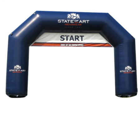 Racing Inflatable Finish Line Archway Inflatable Start Archway